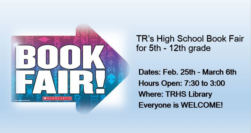 Two Rivers High School Book Fair