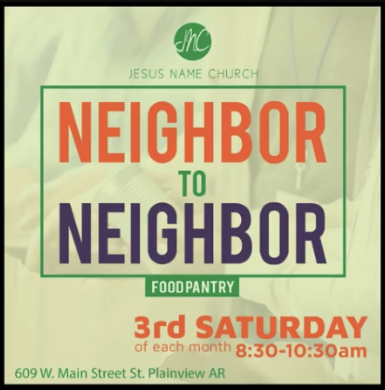 Neighbor to Neighbor Food Bank