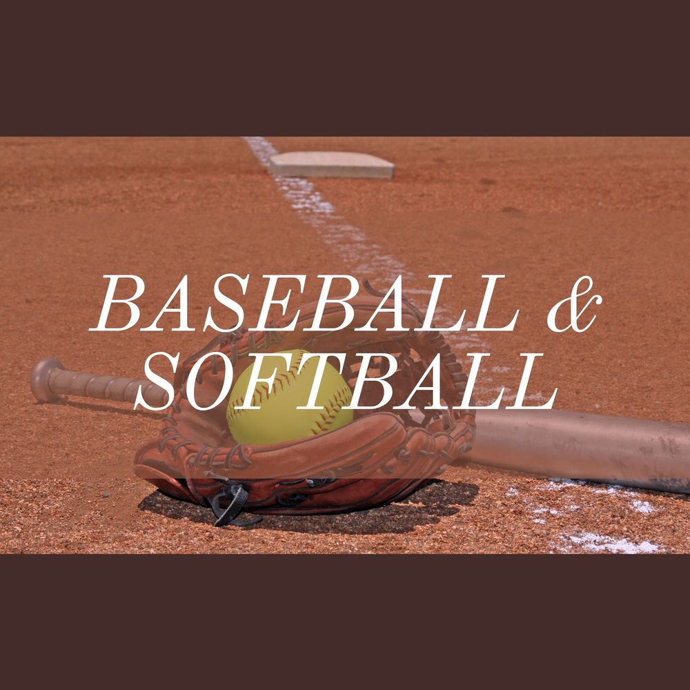 Baseball and Softball 2021 Spring Schedules