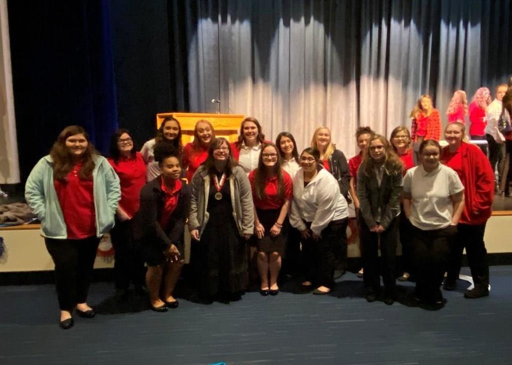FCCLA honored at FCCLA District Meeting